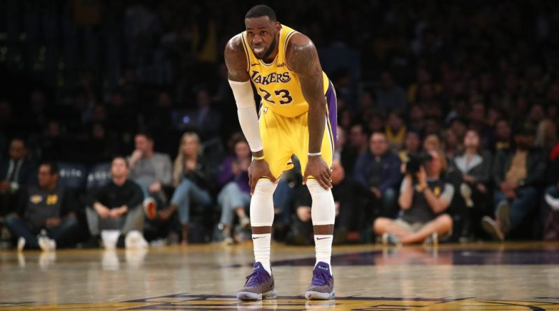 Lakers, LeBron Needs To Sit Out Rest Of Season