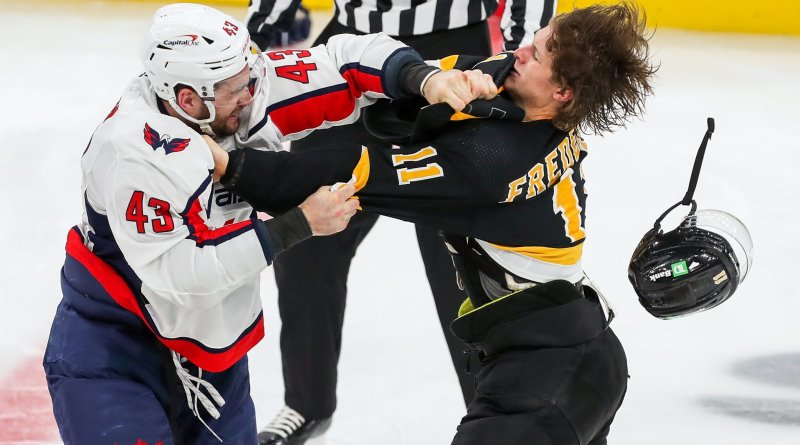 Bruins Caps Round 1 Preview