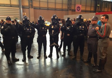 Tie fighter pilots and whatnot