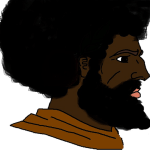 Black Man Afro Chad