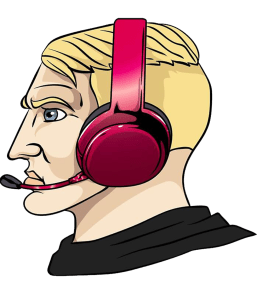 Nordic Chad No Beard Red Headset