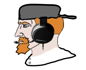 Red Headed Gamer Chad