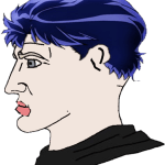 Unknown Blue Haired Chad