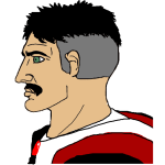 Graying Moustached Chad