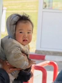 Cute kid Mongolia