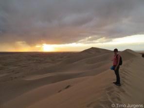Khongor sanddunes Gobi Desert Mongolia