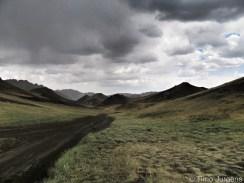 On the way to Yol Canyon Mongolia Gobi Desert Tour