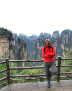 Timo panorama Avatar Mountains Zhangjiajie China