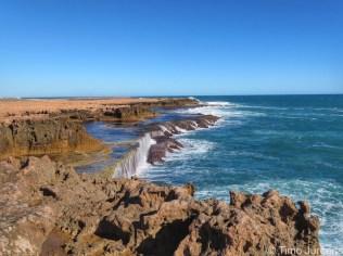 Coastline Quobba Blowholes