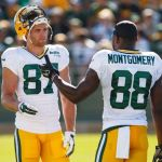 Jordy Nelson (87) and Ty Montgomery (88)