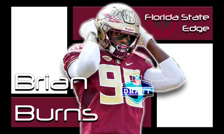 Brian Burns 2019 NFL Draft