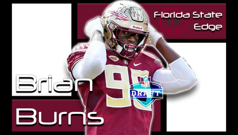 Brian Burns 2019 NFL Draft