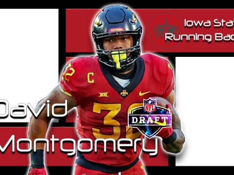 David Montgomery 2019 NFL Draft