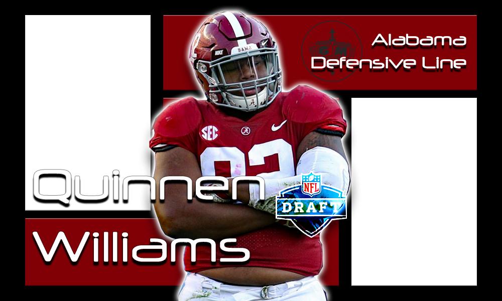 Quinnen Williams 2019 NFL Draft
