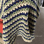 Three Color Baby Blanket Pattern