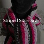 Striped Stars Scarf – Free Pattern