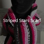 Striped Stars Scarf – Free Pattern
