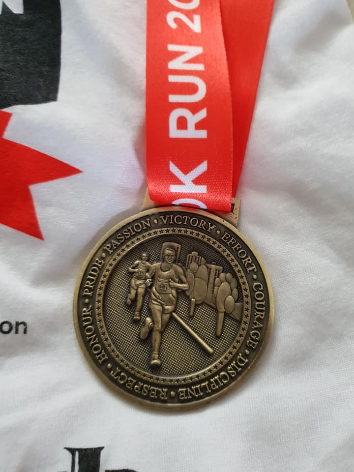 Wolverhampton 10k Medal