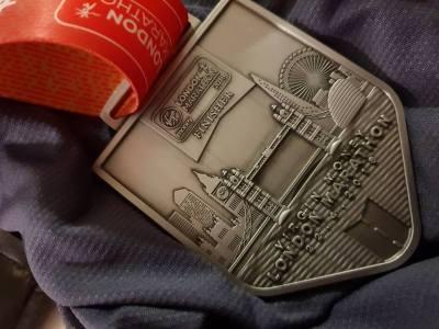 London Marathon Memento Medal