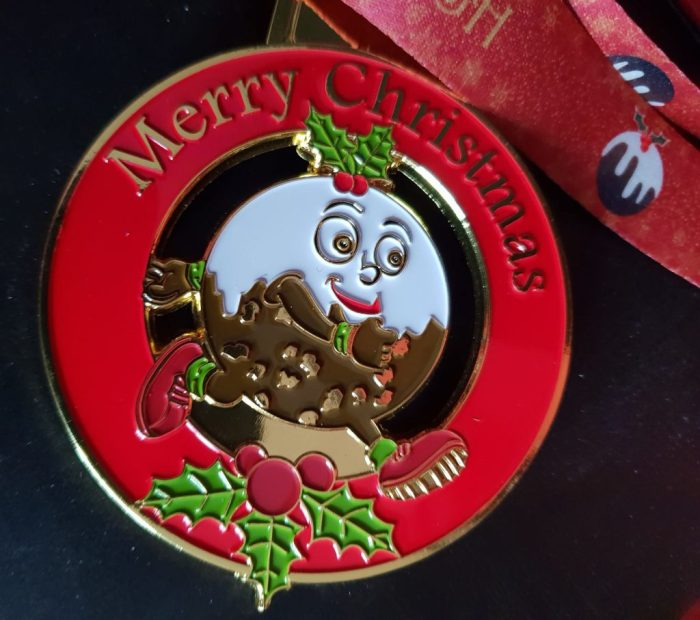 Chasewater Pudding Dash Medal