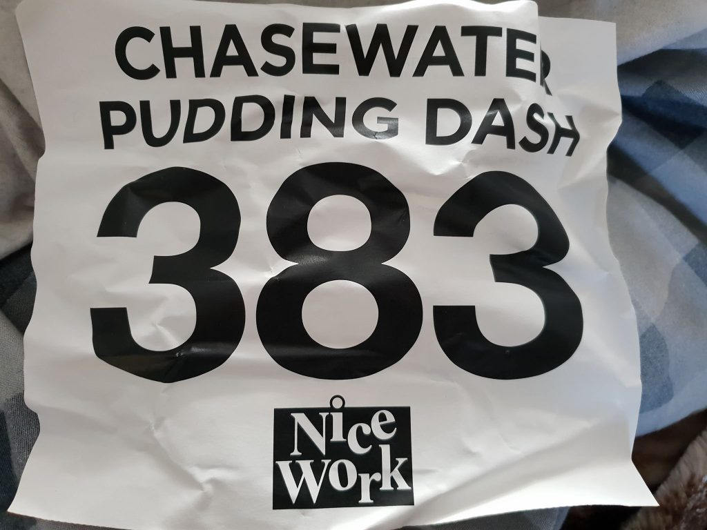 Chasewater Pudding Dash 10k Number