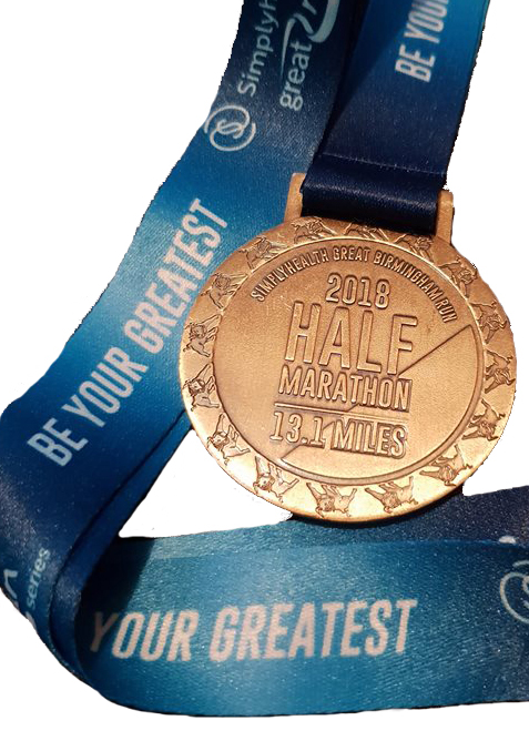 Birmingham Half Marathon Medal