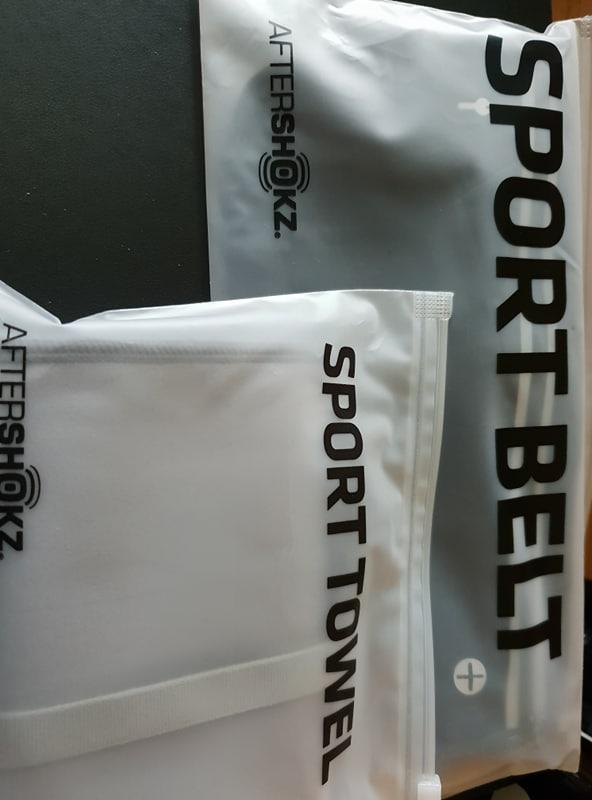 Aftershokz Sport Belt and Sport Towel
