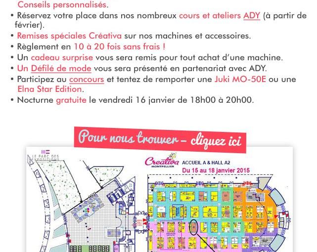 Créativa Montpellier, par ici le programme…