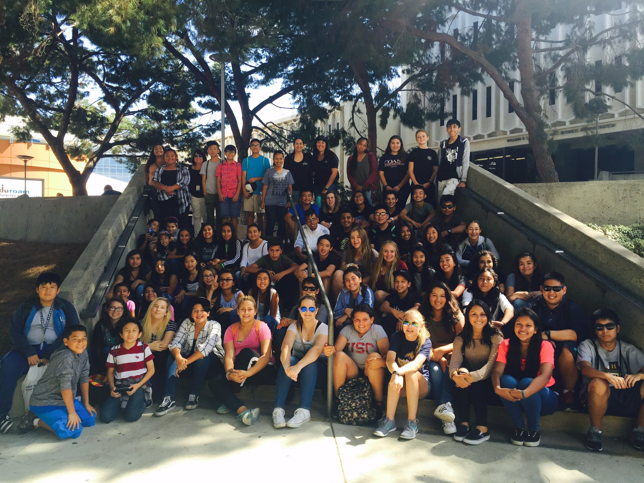 Field Trip To Cal State Fullerton Avid Cougar Chronicle