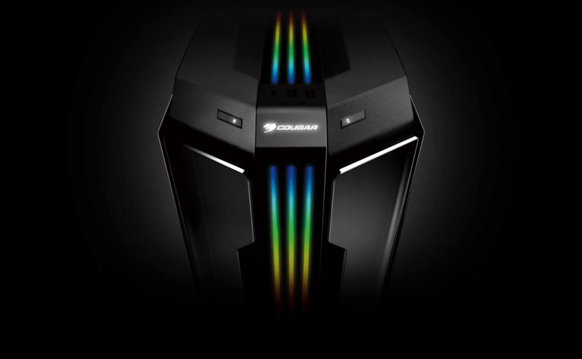 Mid-Tower RGB à aile de verre
