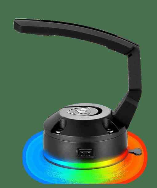 Bungee pour souris RGB avec concentrateur USB