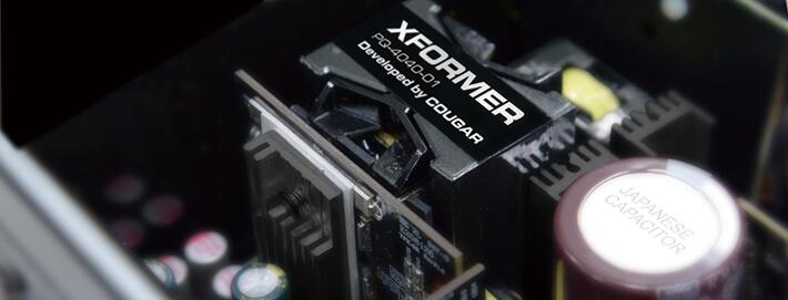 COUGAR Xformer + Qualité raffinée