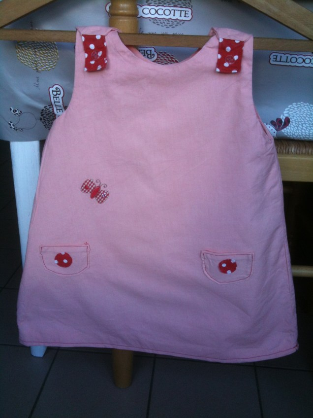 robe trapèze 2 ans