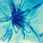 Petite fleur bleue (2015)