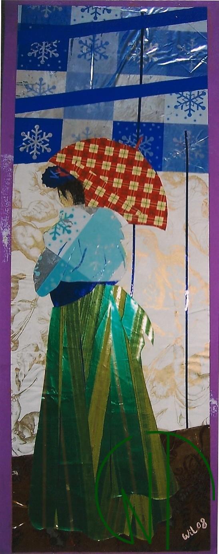 La femme à l'ombrelle