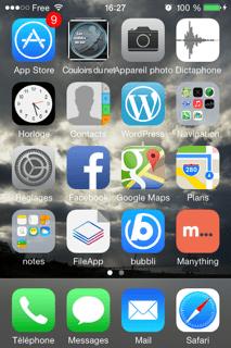 Et la voilà tout en haut à gauche à côté de l'Apple Store ! Cliquez sur l'image pour lire l'article