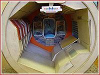 intérieur d'un autre module lunaire
