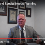 In this Estate Planning Minute, Wes Coulson, Southern Illinois Elder Law attorney, discusses the importance of insurance and special needs planning. l Coulson Elder Law