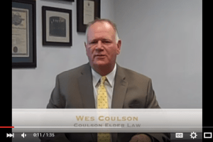 In this Elder Law Minute video, Wes Coulson discusses State Veterans Homes and whether they are a good option for a veteran in need of care. I coulsonelderlaw.com