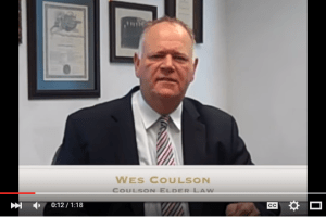 Wes Coulson discusses the importance of protecting your residence when establishling VA benefits eligibility. I coulsonelderlaw.com