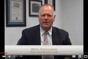 Wes Coulson discusses the VA asset limit for qualifying for VA benefits and explains how the VA uses age analysis for a case by case basis. I coulsonelderlaw.com