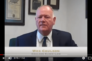 "Wes Coulson discusses Asset Preservation Planning and answers the question, ""How can I protect my residence from being lost to long-term care costs?"" l Coulson Elder Law"