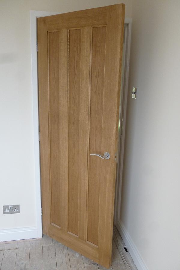 New Oak doors fitted in Huddersfield