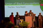 Union of Black Episcopal Charter presentation