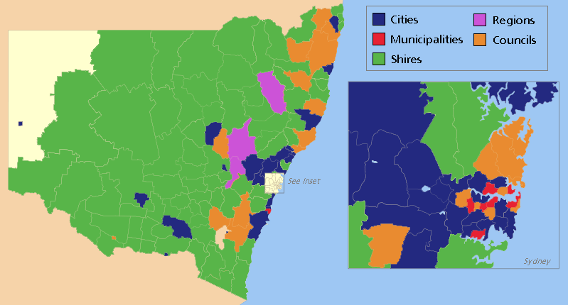 Types of Council across NSW