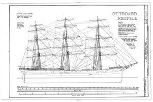 Balclutha ship plan
