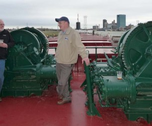 Tour of S.S. COL JAMES M SCHOONMAKER at National Museum of the Great Lakes, Toledo, Ohio