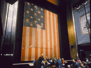 The Star-Spangled Banner courtesy of the Smithsonian National Museum of American History