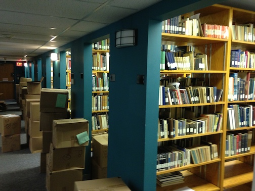 SSHSA's library has been in storage since the 2006 move from the University of Baltimore and they are very excited to make it available to researchers once again.