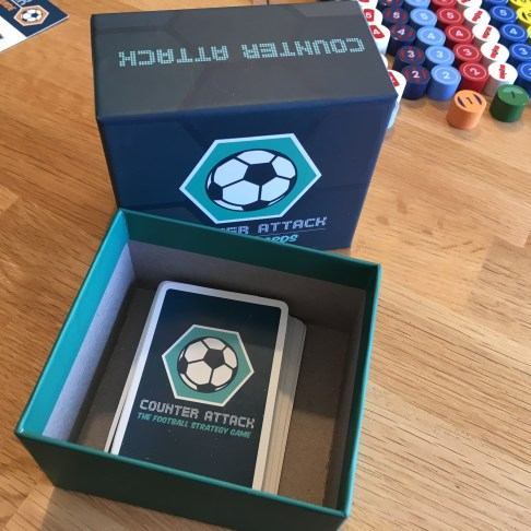 Inside the player card box